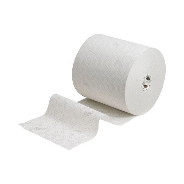 Scott Essential Dispenser Roll Paper 1-Ply White (Pack of 6) 6691