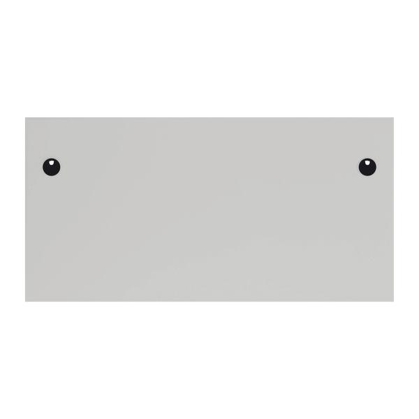 Jemini 1200x800mm White/Silver Single Rectangular Desk
