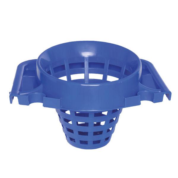 2Work Plastic Mop Bucket, Blue, 15 Litre | 102946