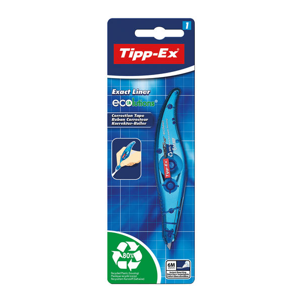 Tipp-Ex Exact Liner Correction Tape Pen, - 810473