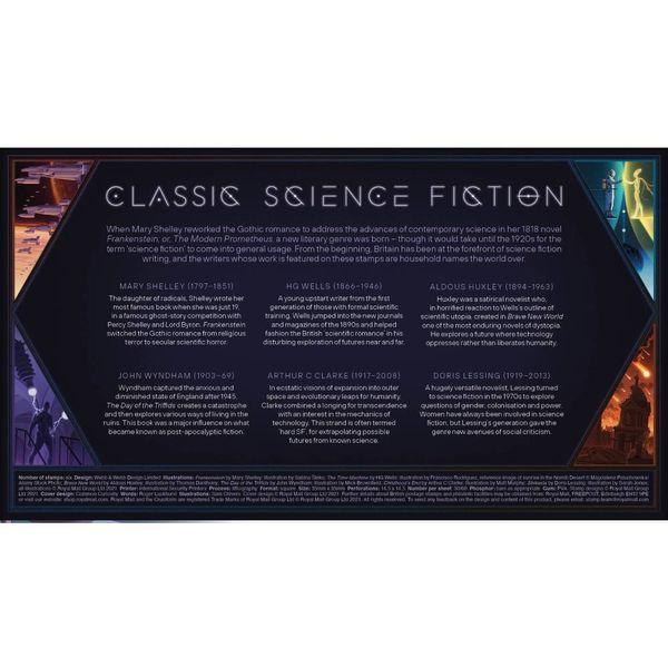 Classic Science Fiction Souvenir Stamp Cover