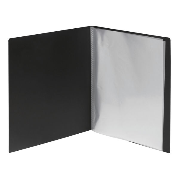 Staples 24 Pocket Display Book 310 x 235mm A4 Clear Pockets 8850703