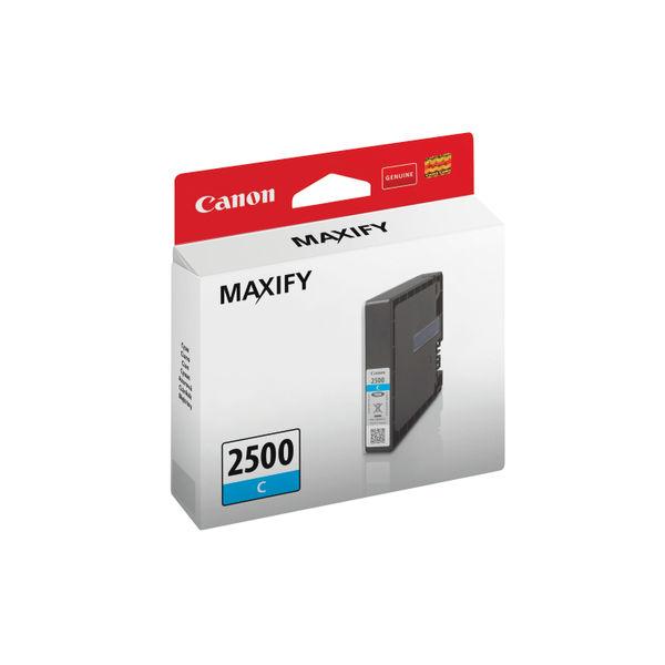 Canon PGI-2500C Cyan Ink Cartridge - 9301B001