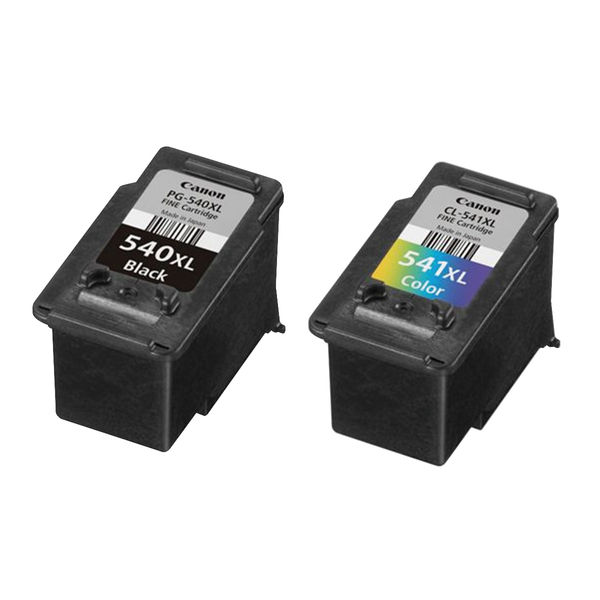 Canon PG-540XL/CL-541XL High Yield Ink Combo Pack