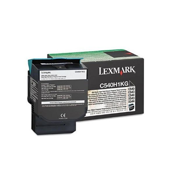 Lexmark C540 Black High Yield Return Program Toner Cartridge 0C540H1CG