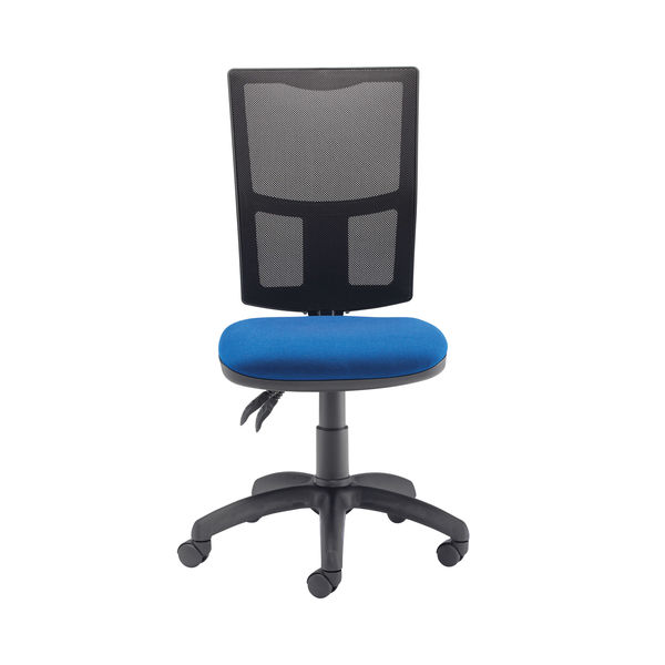 First Medway Blue High Back Mesh Operator Office Chair