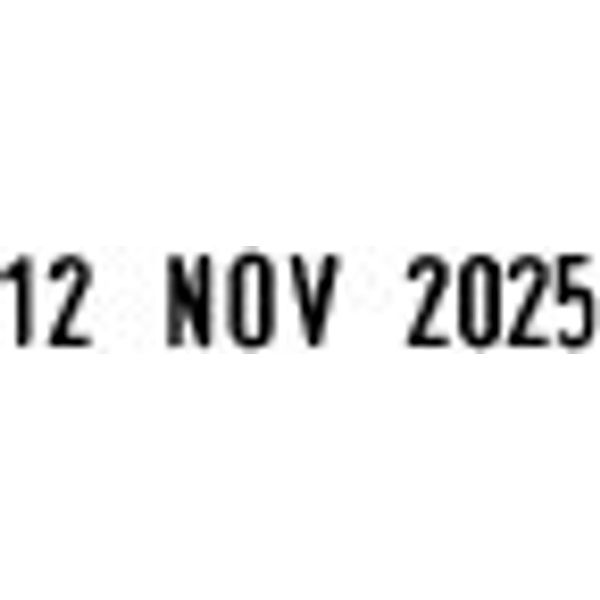 COLOP P700 Rubber Date and Received Stamp - EM00019