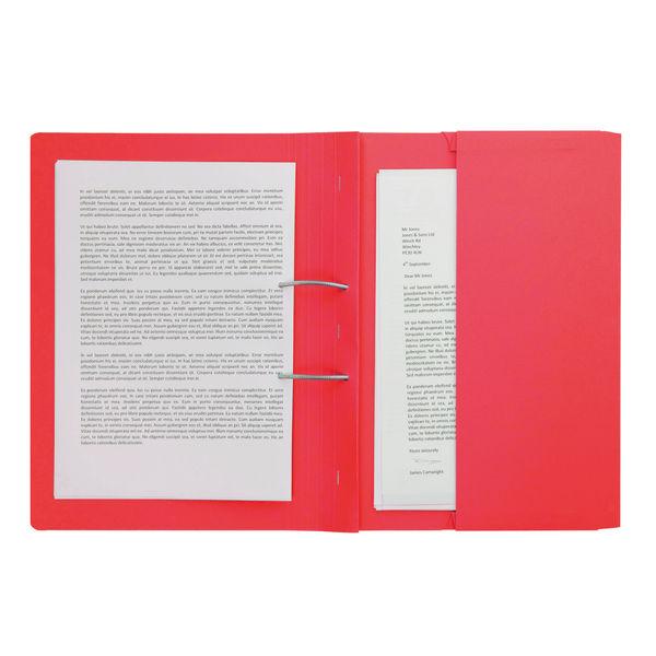Forever Assorted Foolscap Pocket Spiral Files, Pack of 25 - 211/5100Z