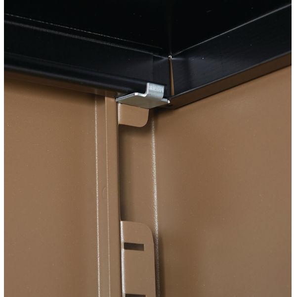 Jemini 1806mm Coffee/Cream 2 Door Storage Cupboard