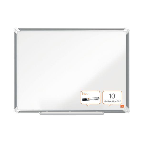 Nobo Premium Plus Melamine Whiteboard 1200 x 900mm 1915168