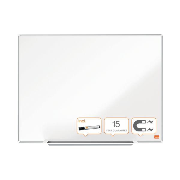 Nobo Impression Pro Steel Magnetic Whiteboard 900x600mm 1915402