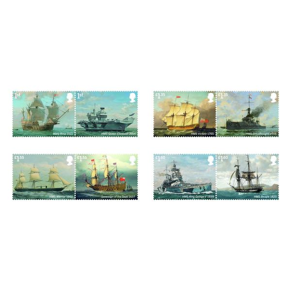 The Royal Navy Ships Presentation Pack