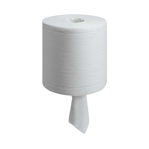 Wypall L20 White Wiper Centrefeed Rolls, Pack of 6 - 7303
