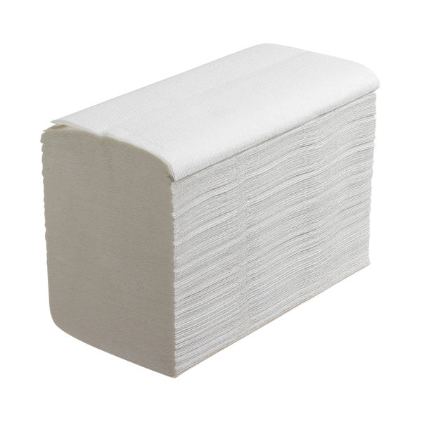 Scott Xtra White 1-Ply Hand Towels, Pack of 15 - 6669
