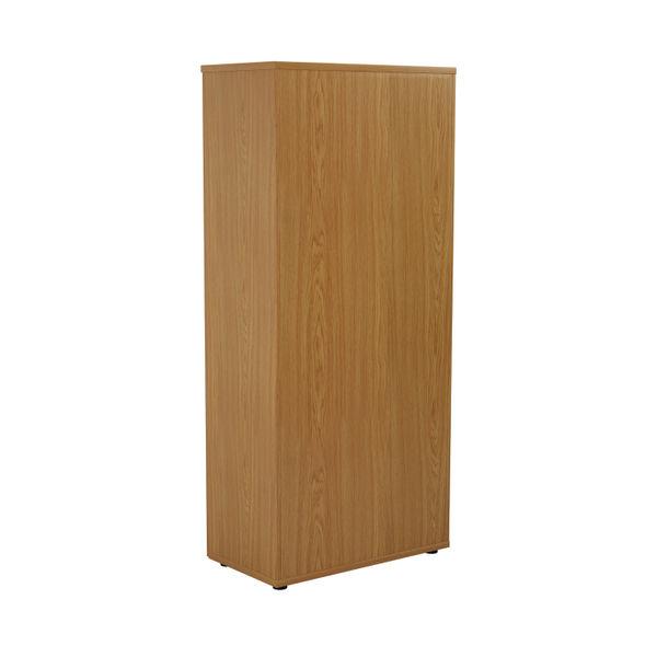 First 1800mm Nova Oak Wooden Storage Cupboard