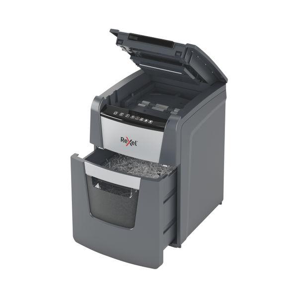 Rexel Optimum AutoFeed+ 100X Cross Cut Shredder – 2020100X