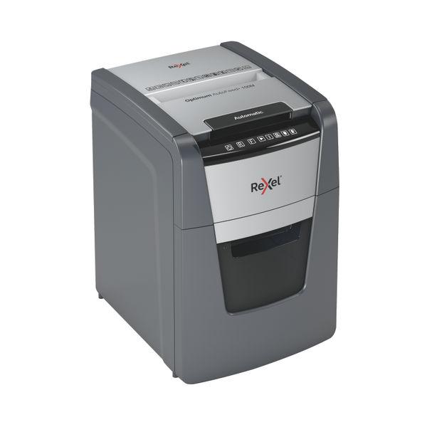 Rexel Optimum AutoFeed+ 100M Micro-Cut P-5 Shredder Black 2020100M