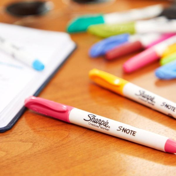 Sharpie S-Note Assorted Creative Markers, Pack of 4 - 2138234