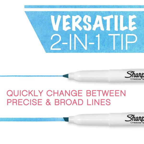 Sharpie S-Note Assorted Creative Markers, Pack of 20 - 2139179