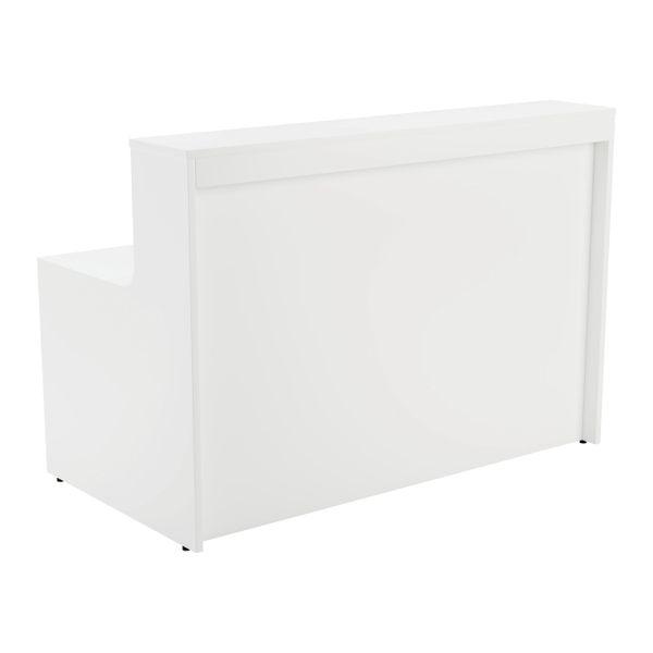 Jemini 1600mm White Reception Unit