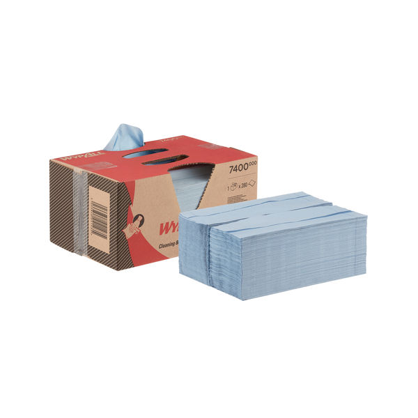 Wypall L20 Clean And Maintenance Wipes (Pack of 280) 7400