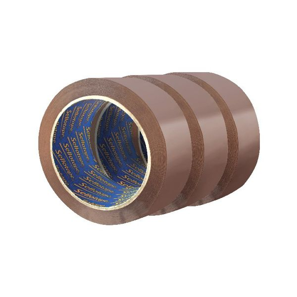 Sellotape Brown Packaging Tape, Pack of 18 | SE810854