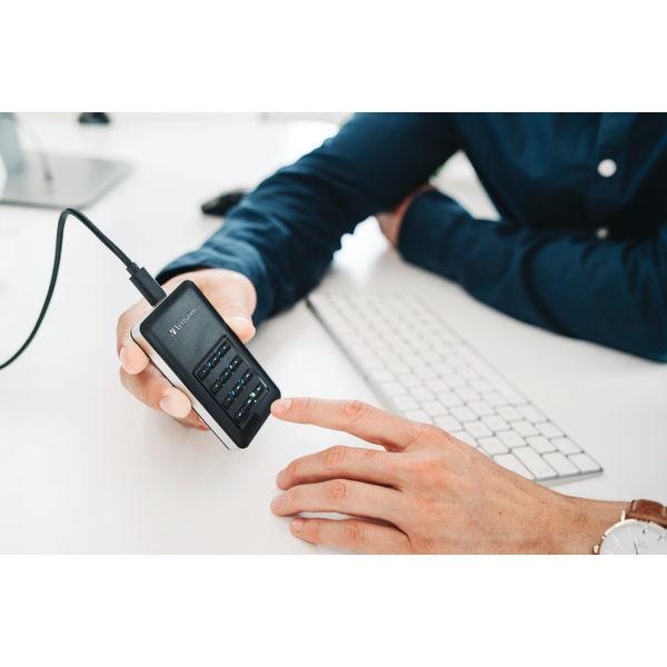 Verbatim Store n Go Secure Portable SSD USB 3.1 256GB 53402