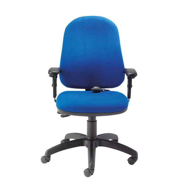 First Blue High Back Posture Office Chair