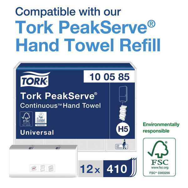 Tork Peak Serve Continuous Mini Hand Towel Dispenser 552550