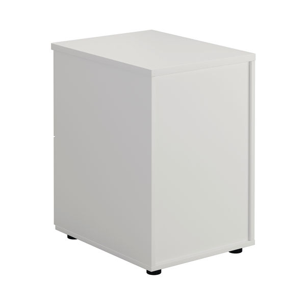 First 730mm White 2 Drawer Filing Cabinet