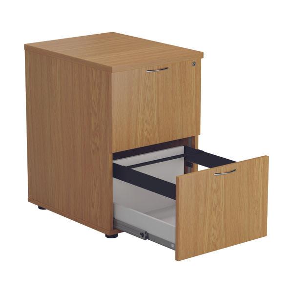 Jemini 710mm Nova Oak 2 Drawer Filing Cabinet