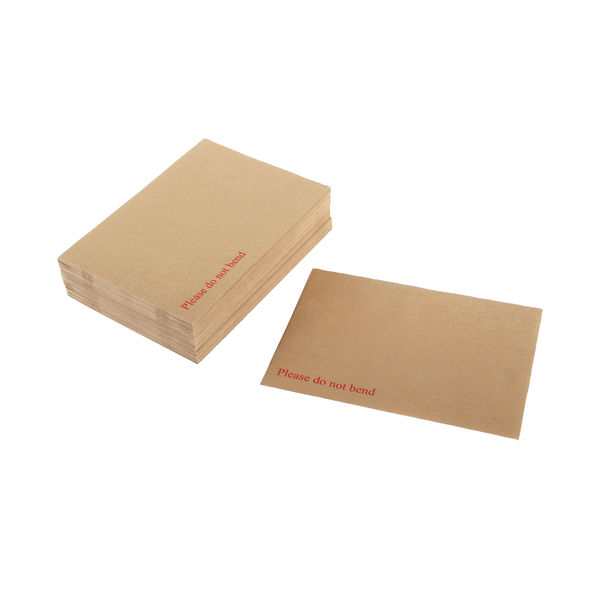 Q-Connect 241 x 163mm Board Backed Manilla Envelopes Pack of 125   KF3518