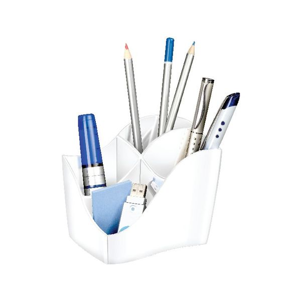CEP Ellypse Xtra Strong Pencil Cup in White - 1003400021