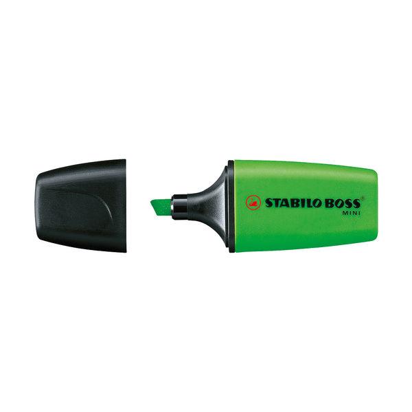 STABILO BOSS Assorted Mini Highlighter Pens, Pack of 5 - 07/5-11