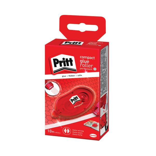 Pritt 8.4mm x 10m Permanent Glue Rollers, Pack of 10 | 2120601