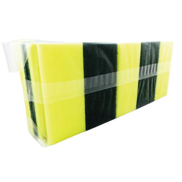 Sponge Back Scourer 140x70x40mm (Pack of 10) SBS100G