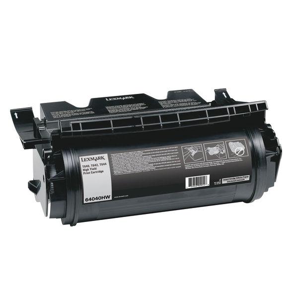 Lexmark T640 Black Toner Cartridge - High Capacity 64040HW