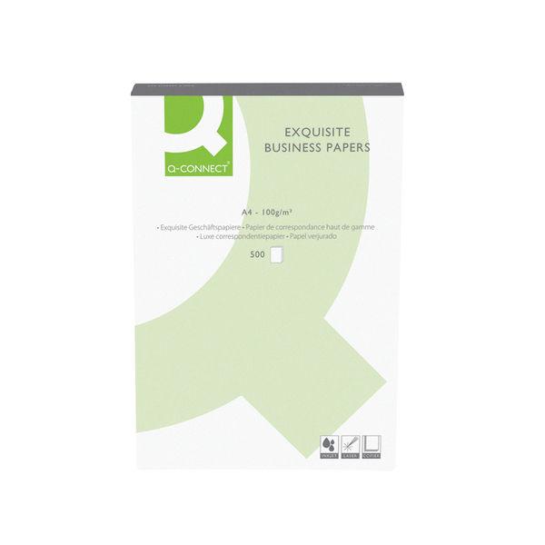 Q-Connect Wove Antique Vellum A4 Business Paper 100gsm (500 Sheets) KF01437