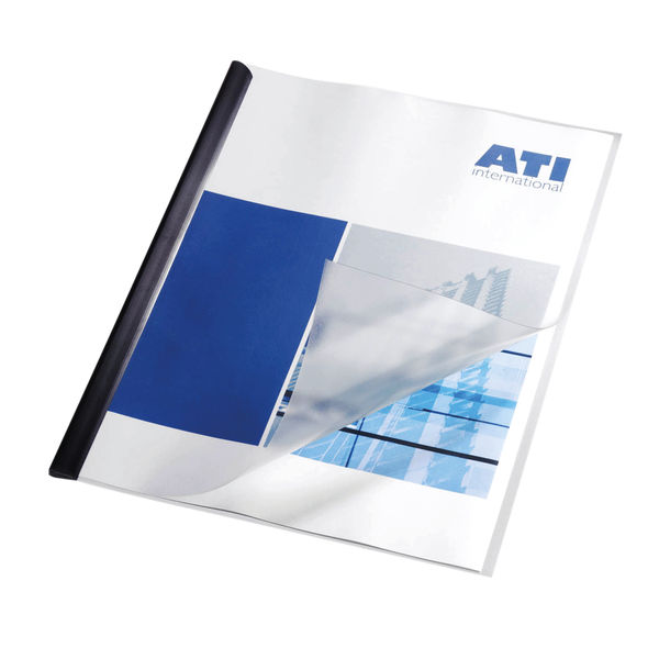 Durable A3 Folded to A4 Clear Report Covers, Pack of 50 - 2939/19
