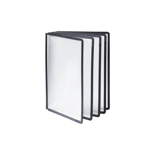 Sherpa A4 Display Panels Black (Box of 10) | USR010920