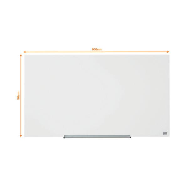 Nobo Diamond 993 x 559mm Magnetic Glass Board - 1905176