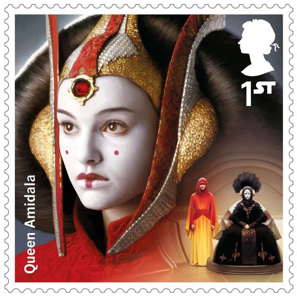 1st Class Stamps x 25 (Self Adhesive Stamp Sheet) - Star Wars B