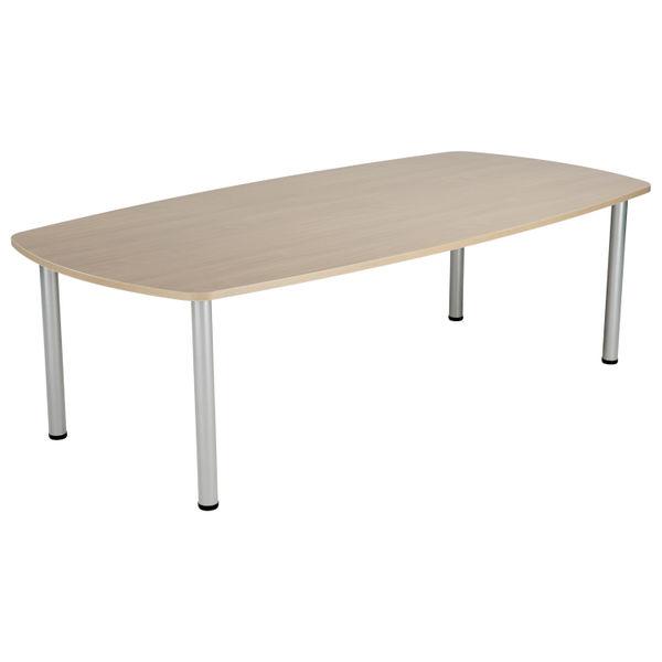 Jemini 1800mm Grey Oak Boardroom Table