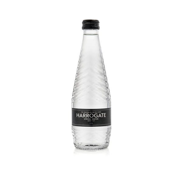 Harrogate 330ml Still Spring Water Glass Bottles, Pack of 24 | G33024 1S