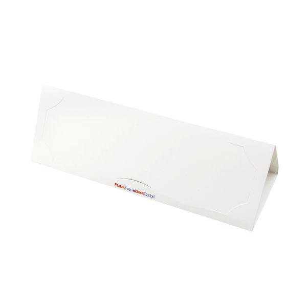 Identibadge Plastic Free Name Place Holder (Pack of 10) IB50492