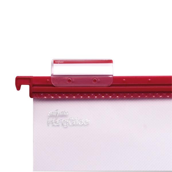 Snopake HangGlider Suspension File Foolscap Clear (Pack of 25) 15858