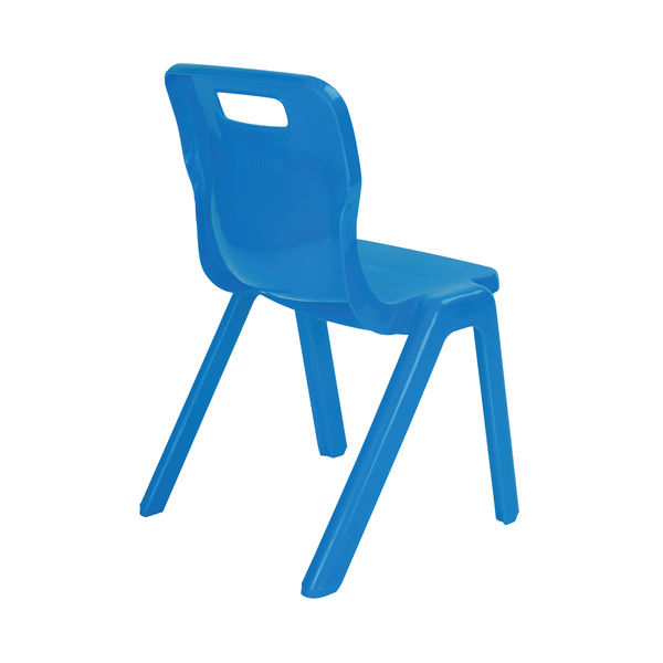 Titan 260mm Blue One Piece Chair