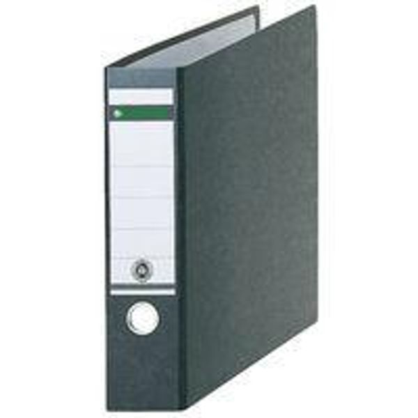 Leitz 180 Oblong Lever Arch File Board A3 Black (Pack of 2) 310680095