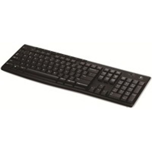 Logitech K270 Wireless Keyboard UK Layout Black 920-003745