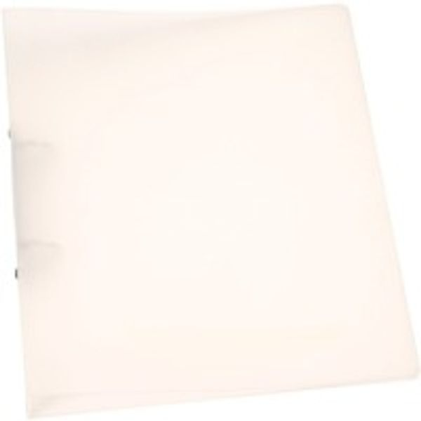 Q-Connect Frosted Clear A4 2 Ring Polypropylene Ring Binder - KF02487